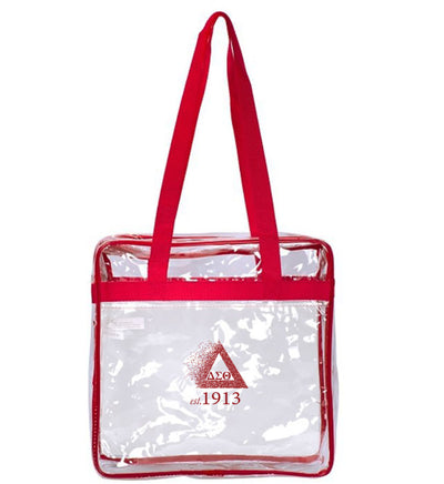 DST Zippered Stadium Tote - UTOPIA CREATIONS | Accessories & Gifts