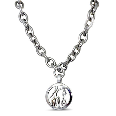 Cuban CZ Link Necklace w/Fortitude (Stainless Steel) - UTOPIA CREATIONS | Accessories & Gifts
