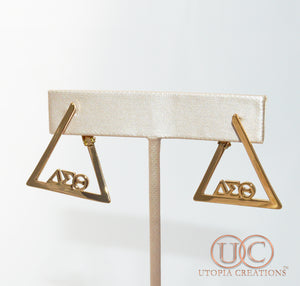 ΔΣΘ Greek Symbol Earrings