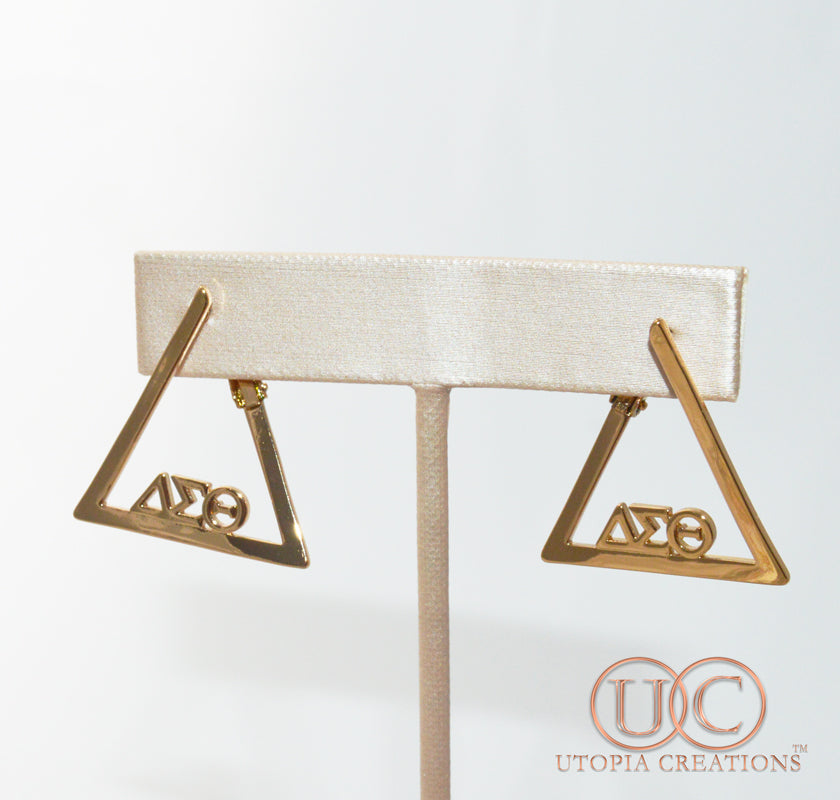 ΔΣΘ Greek Symbol Earrings - UTOPIA CREATIONS | Accessories & Gifts