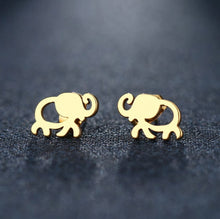 Elephant Stud Earrings (Stainless Steel) - UTOPIA CREATIONS | Accessories & Gifts