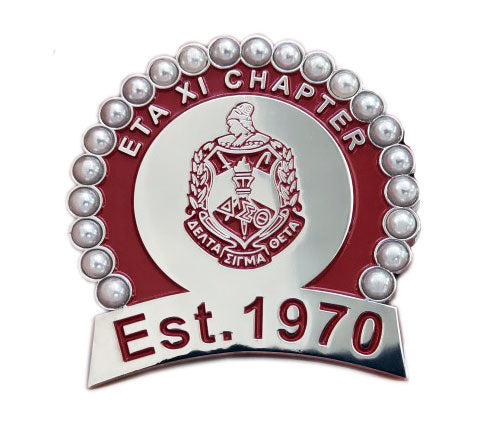 PRE-ORDER: Eta Xi Chapter/Anniversary Brooch Pendant - UTOPIA CREATIONS | Accessories & Gifts