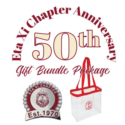 Eta Xi 50th Anniversary Gift Bundle - UTOPIA CREATIONS | Accessories & Gifts