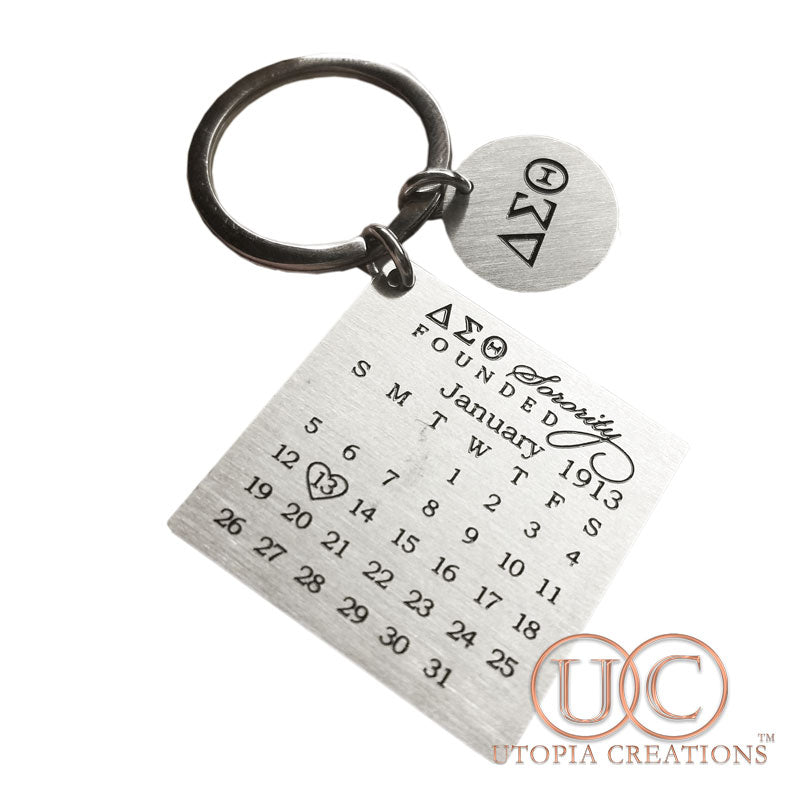 ΔΣΘ Founders' Keychain (LIMITED EDITION)