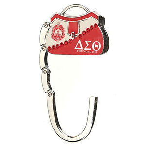ΔΣΘ Collapsible Purse Hook/Hanger