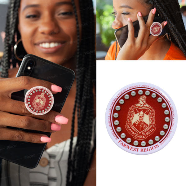 Mobile Phone PopSocket with DST Regional Logo - UTOPIA CREATIONS | Accessories & Gifts