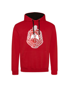 Hooded Unisex Sweatshirt with Sequin DST Crest