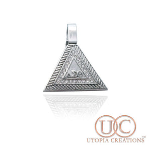DST Pyramid Pendant (Stainless Steel) - UTOPIA CREATIONS | Accessories & Gifts