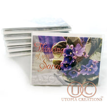 "DST ""Thinking of You Soror"" African Violets Cards - UTOPIA CREATIONS 