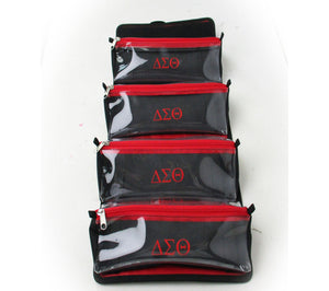 Delta ΔΣΘ Travel Toiletry/Makeup Bag - UTOPIA CREATIONS | Accessories & Gifts