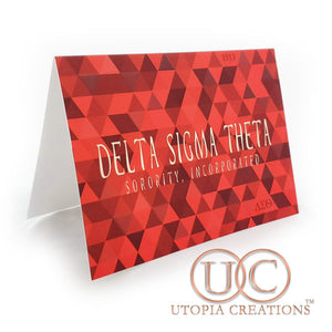 DST Pyramid Greeting Cards - UTOPIA CREATIONS | Accessories & Gifts