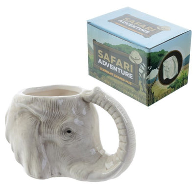 Ceramic Elephant Mug - UTOPIA CREATIONS | Accessories & Gifts