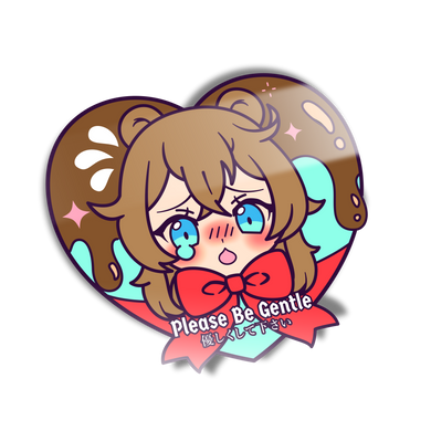 Kuma-Chan Heart Mini Sticker