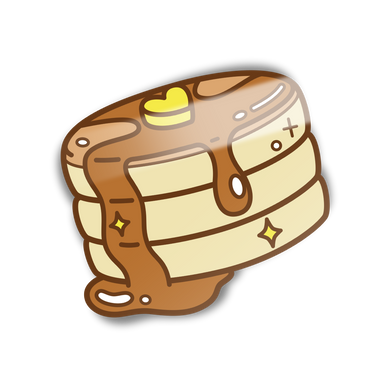 Literal Pancake Mini Sticker