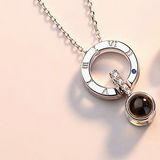 Ihrtrade 100 Languages, Love Necklace, Love Ring,Colored Contact Lenses