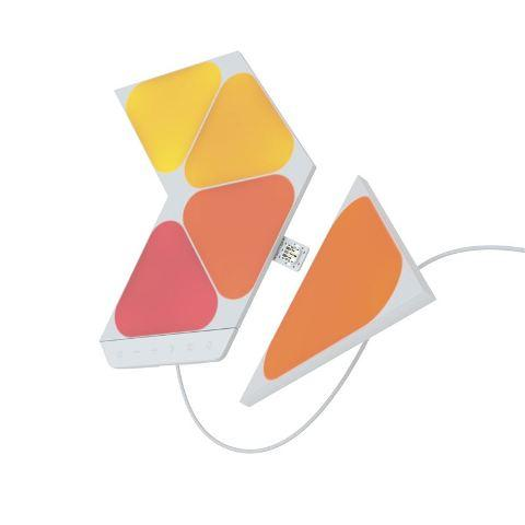 Nanoleaf Shapes Triangles Mini Starter Kit 5 LED Panela