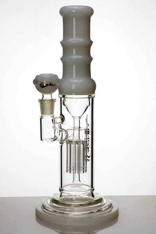 "12"" genie glass 10-arm water recycled bong"