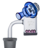 Blue Glass Carb Cap For Sale  For Quartz Banger  Free Shipping