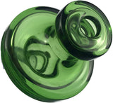 Clear Snorkel Glass Directional Carb Cap | Carb Caps | Free Shipping