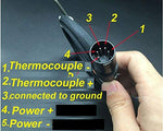 Enail Coil Heater | Plug Coil K Type Thermo | Free Shipping