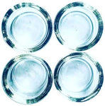 Handmade Solid Quartz Bowl Dish Insert 20mm 4 Pack | Free Shipping