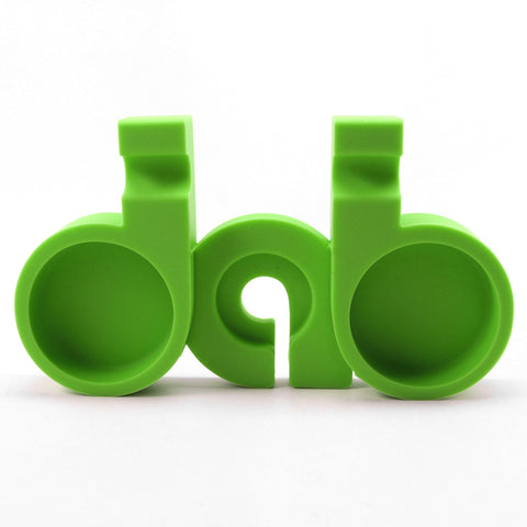 NoGoo Silicone Dab Station - Green | Dab Tool For Sale | Free Shipping