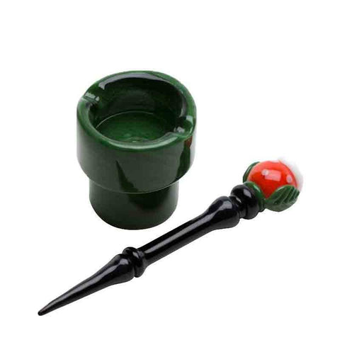 Empire Glassworks Piranha Plant Dish & Dabber | Dab Tools For Sale