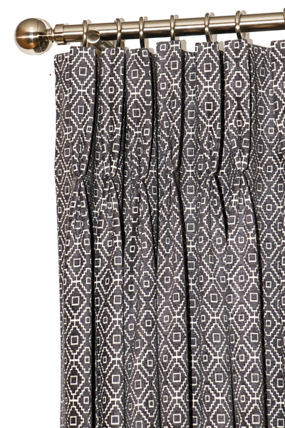 Kenza Slate Curtains