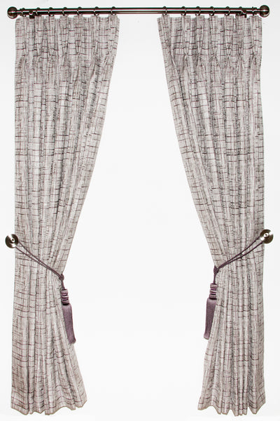 Lees Plum Curtains