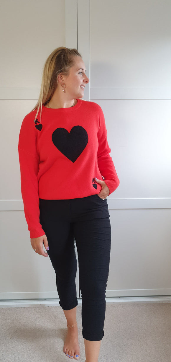 The king of Hearts jumper