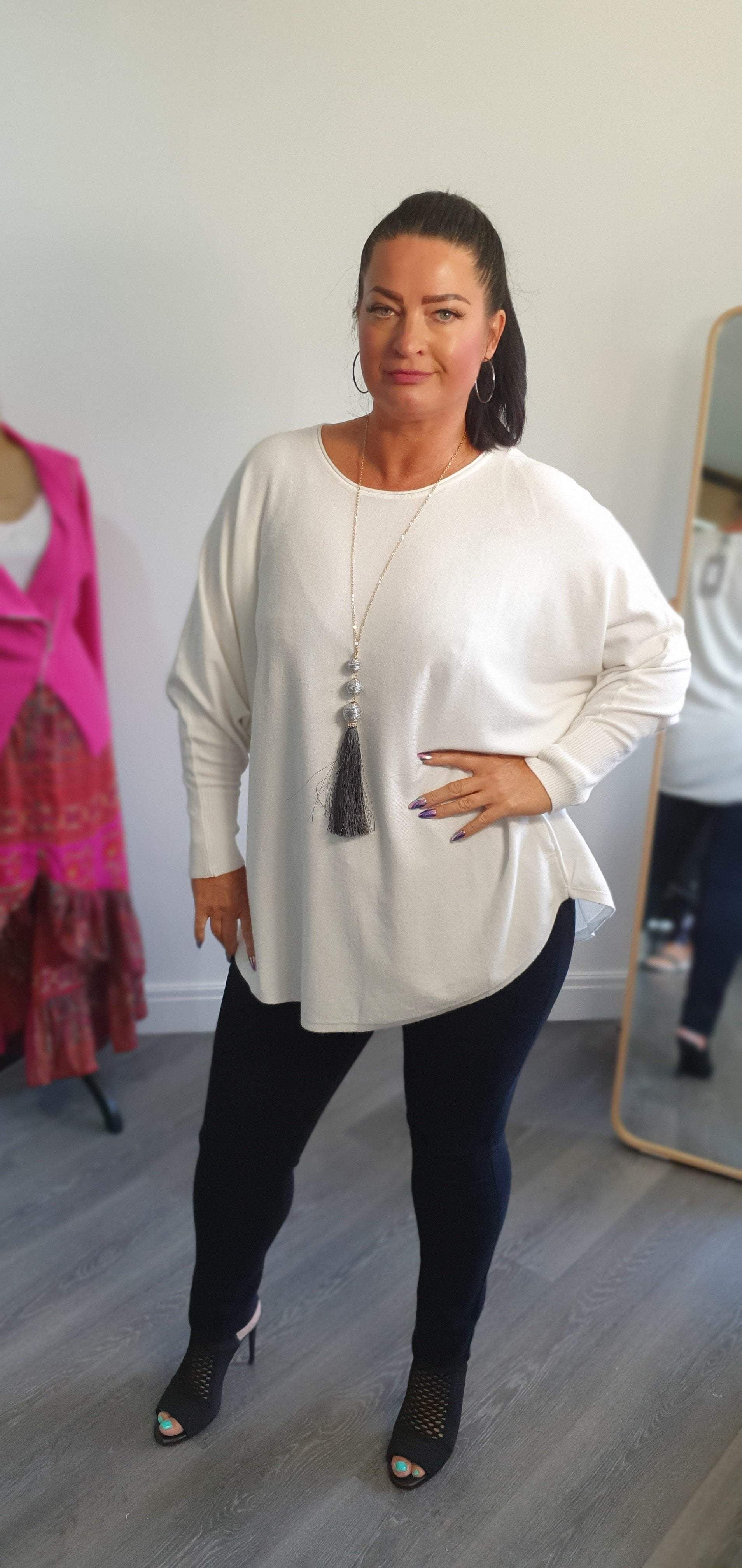 The white company jumper