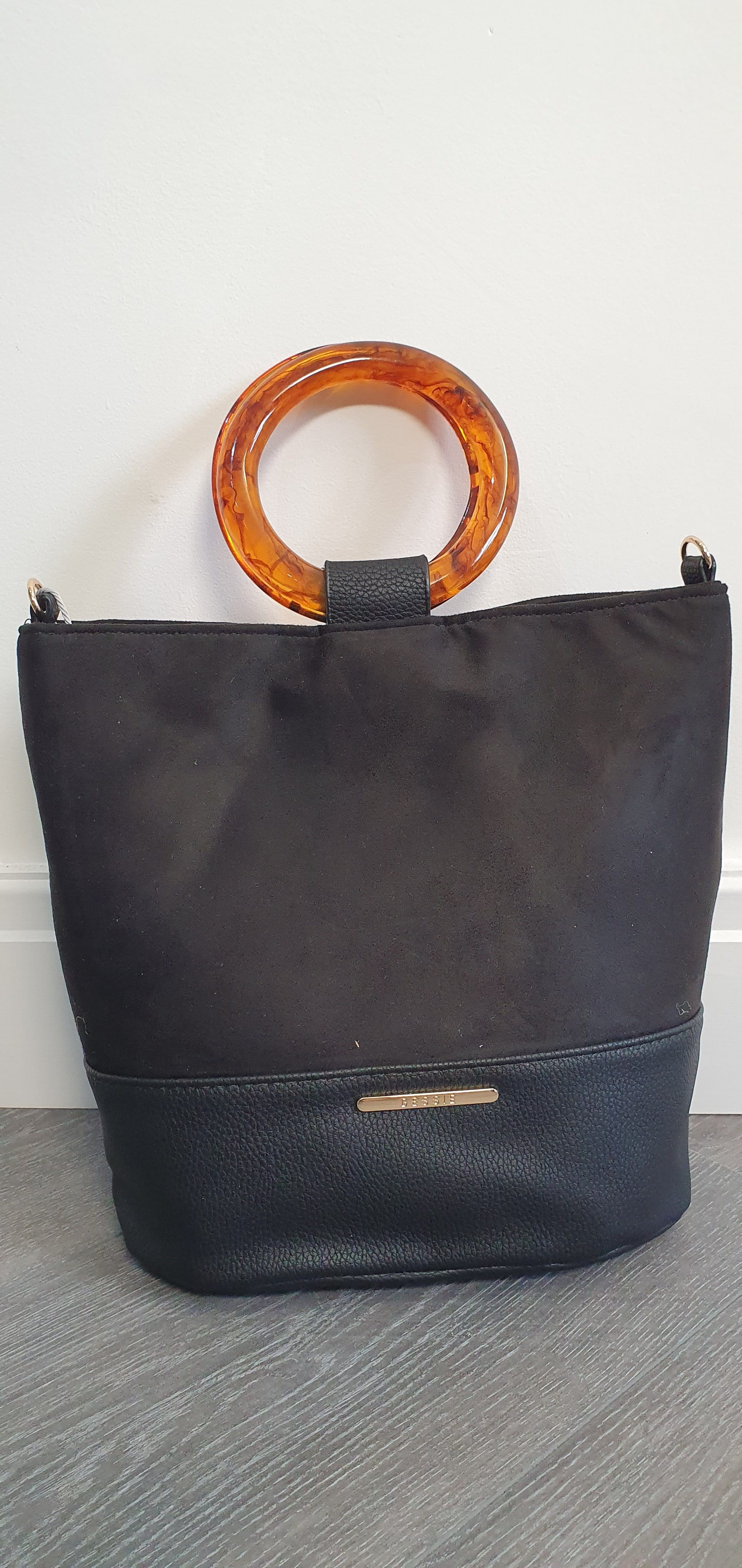 The Bessi Soft Cyclinder handbag