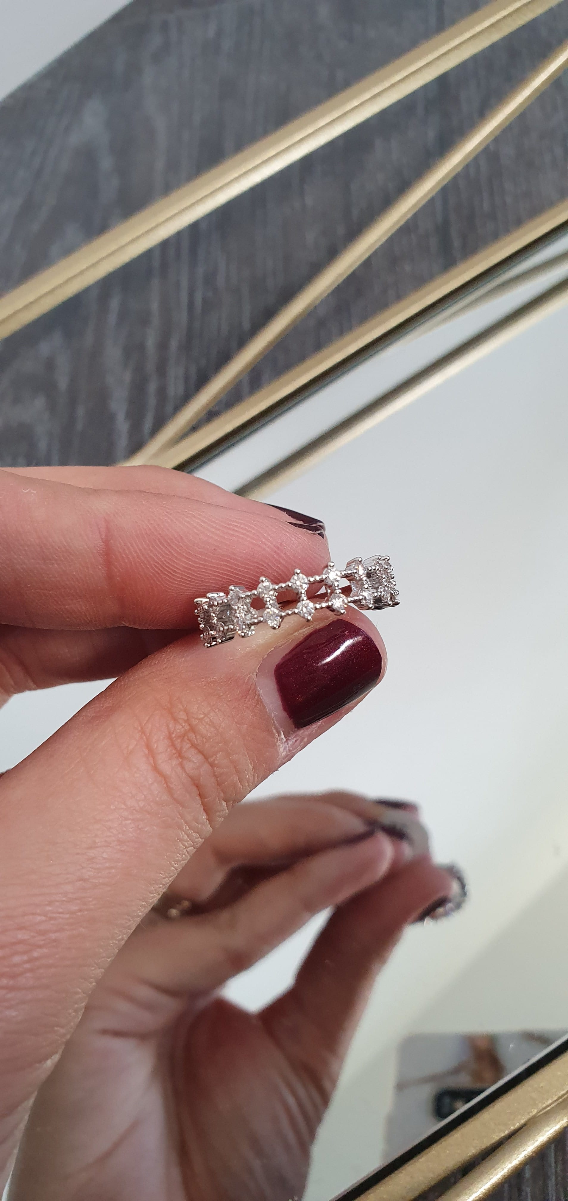 The Diamante track ring