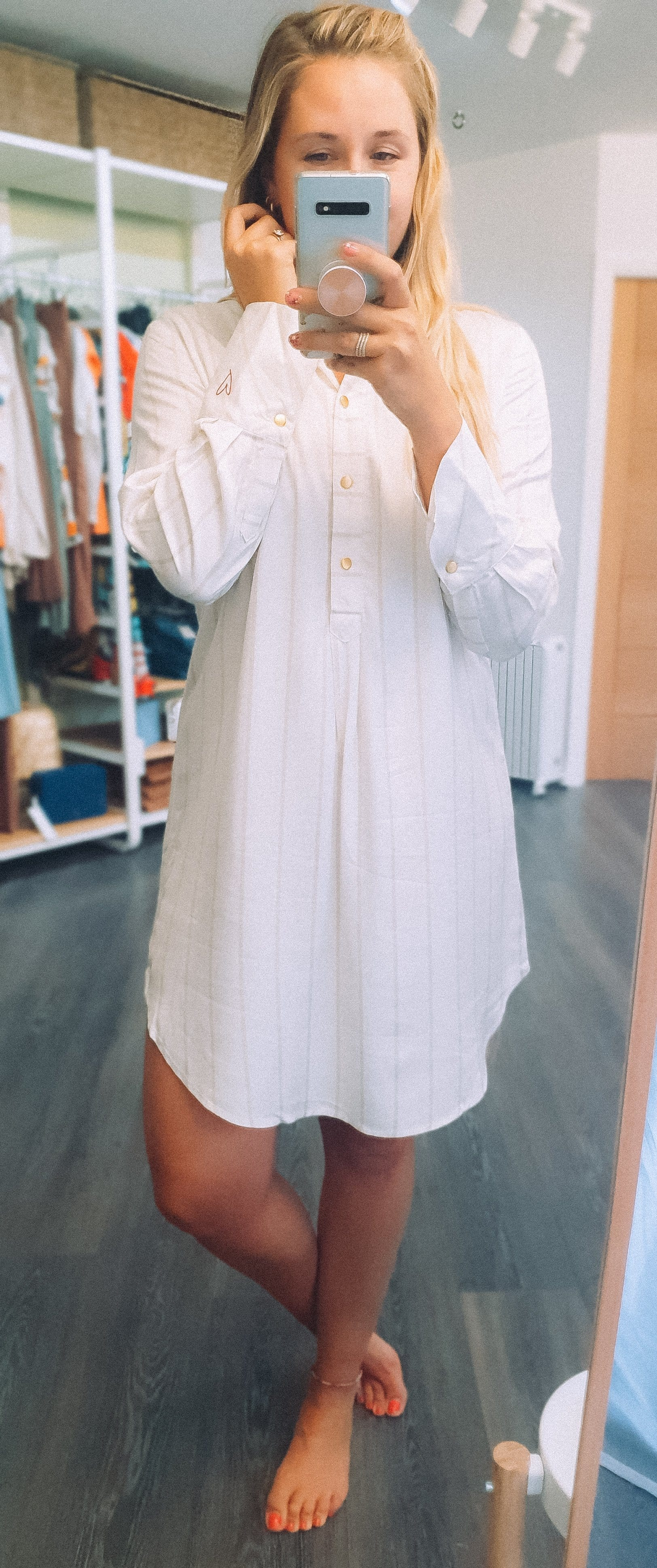 The Numph shirt dress