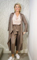 The Taupe Suit
