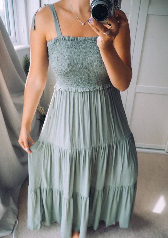 The Helene Maxi dress