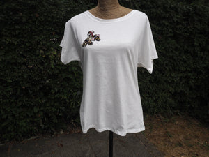Embellished Bee T-shirt