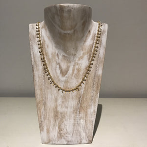 Tilley and Grace gold necklace
