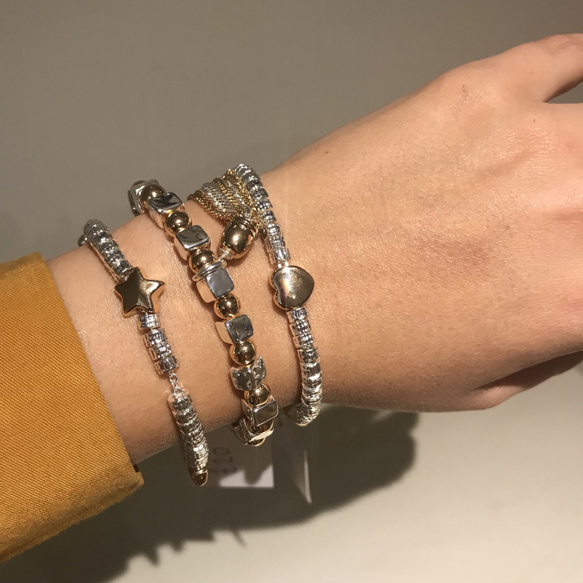 Tilley and Grace Capri bracelets