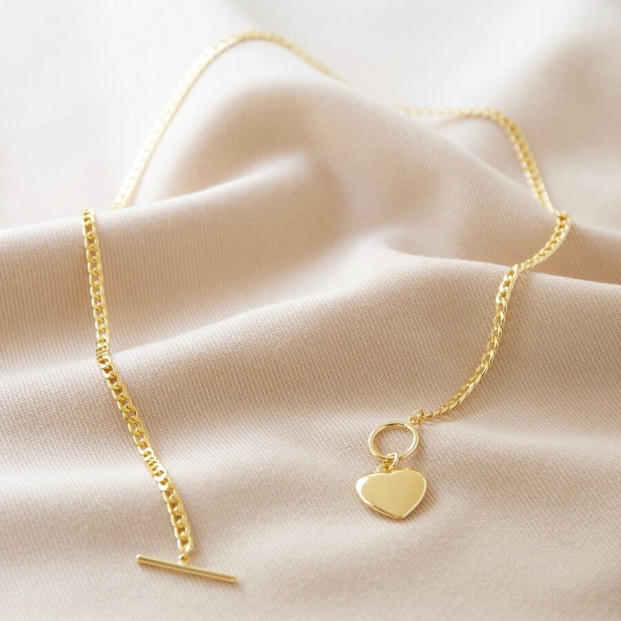 The toggle heart pendant