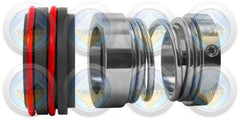 double oring seat mechanical seal totally