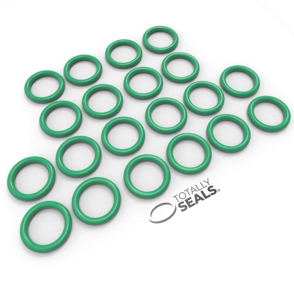 16mm x 2mm (20mm OD) FKM (Viton™) O-Rings - Totally Seals