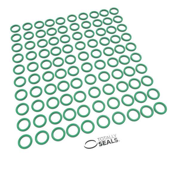 6mm x 2mm (10mm OD) FKM (Viton™) O-Rings - Totally Seals®