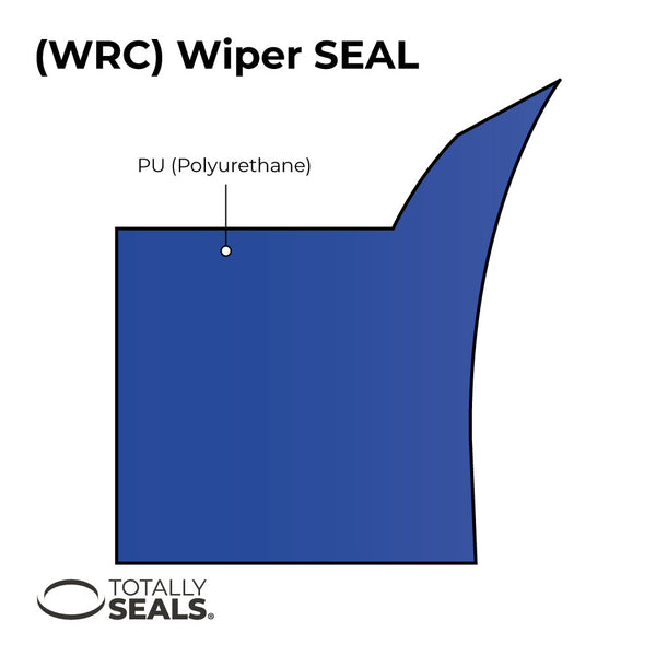 50mm x 60mm x 6/10mm WRC Hydraulic Wiper Seal - Totally Seals