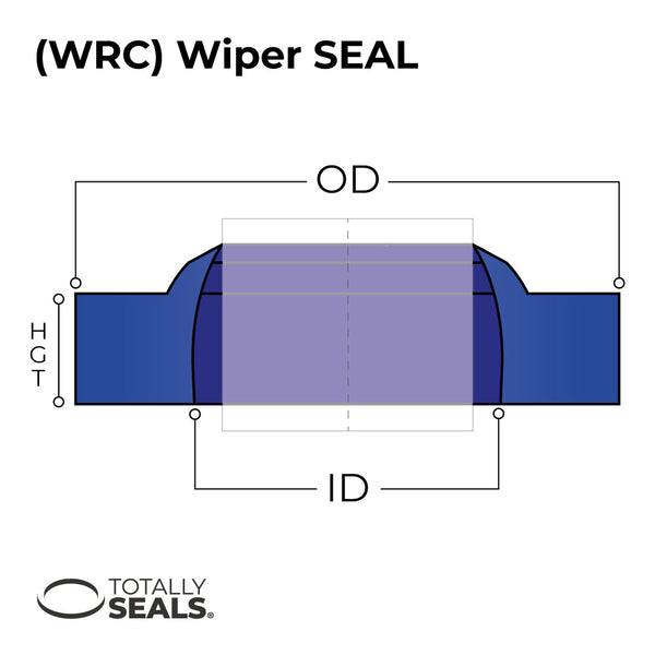 80mm x 92mm x 7/11mm WRC Hydraulic Wiper Seal - Totally Seals