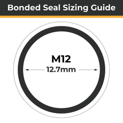 M12 Bonded Seals (Dowty Washers)