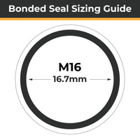 M16 Bonded Seals (Dowty Washers) - Totally Seals