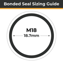 M18 Bonded Seals (Dowty Washers)