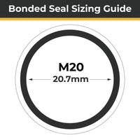 M20 Bonded Seals (Dowty Washers) - Totally Seals