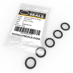 11mm x 2mm (15mm OD) Nitrile O-Rings